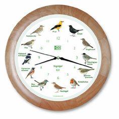 Uhr mit Singvögelstimmen von Kookoo. Eine Geschenkidee von https://Geschenkling.de - Immer rechtzeitig passende Geschenkideen für deine Familie, Freunde und Kollegen.