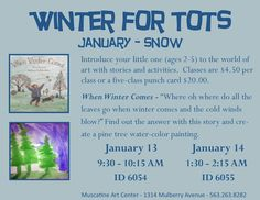 Winter for Tots January 2016 - Muscatine Art Center