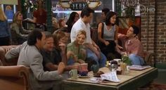 """They play best friends who crash the orange couch in Central Perk. 