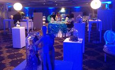 Mylan's stand for 'The Imaginarium of Dr. Mylan' conference.