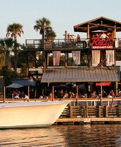 Red's Ice House on Shem Creek, Mount Pleasant - been there done this - SO many times!