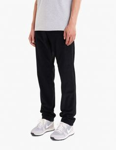 """Trousers from <a href=""""http://tres-bien.com/apc/"""" class=""""uniquelink"""">A.P.C.</a> Zip fly and button closure. Belt loops. Two slanted front pockets. Two jetted back pockets. Straight fit."""