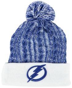 Authentic NHL Headwear Women s Tampa Bay Lightning Iconic Ace Knit Hat Women  - Sports Fan Shop By Lids - Macy s 7836de880