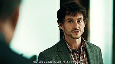 The moment when Will Graham was me.