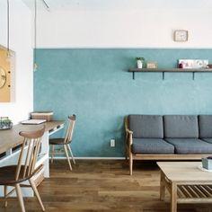 リノベーション / oliveの部屋 書斎のあるリビングルーム