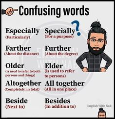 some confusing words Teaching English Grammar, English Writing Skills, English Vocabulary Words, Learn English Words, English Phrases, English Idioms, English Language Learning, English Lessons, English Vinglish