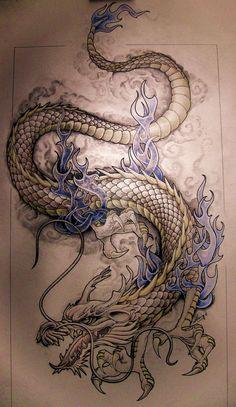 dragon by knotty-inks http://knotty-inks.deviantart.com/art/dragon-194199678                                                                                                                                                                                 More