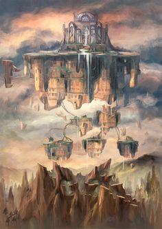 Arte do Game Child of Light, da Ubisoft | THECAB - The Concept Art Blog