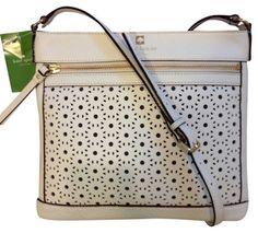 Kate Spade Aleah Reidy Fresh White Cross Body Bag $183