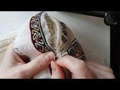 Prinderea bratarii pe fata sub cretul de Tichiriş - YouTube Maya, Macrame, Cross Stitch, Make It Yourself, Costume, Traditional, Sweater, Clothing, Ornaments