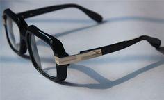 New Authentic Cazal MOD607 Vintage Eyeglasses Black Frame