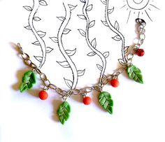 green leaves  green leaf  bracelet leaf  nature leaf  leaves jewelry beads jewelry  red beads  porcelain leaves  porcelain beads  cold porcelain  little green leaf  nature bracelet summer bracelet green leaves bracelet red beads porcelain summer meadows nature garden tree fun cute baby girl grass woman charms leaf little tiny cute