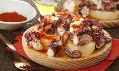 Receta de Pulpo a la gallega con patatas