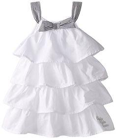 Calvin Klein Little Girls' White Ruffled Dress, White, 6X Calvin Klein http://www.amazon.com/dp/B00NFFZVE2/ref=cm_sw_r_pi_dp_sPdavb0V5FC5T