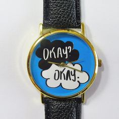 Okay  Watch  The Fault in our Stars   Vintage Style door FreeForme, $12.00