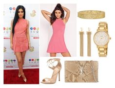 """""""Kylie Jenner - Look for less"""" by alicefox149 on Polyvore featuring Gianvito Rossi, Yves Saint Laurent, Chloé, Yossi Harari, Kate Spade, Pink, party, KylieJenner and ss"""