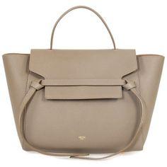 413ae8321ecb Celine Belt Medium Dune Grain Leather Tote Bag Free Shipping Today ( 2