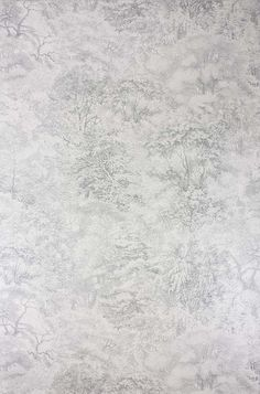 Osborne & Little Folyo Grey/Ivory Mica Wallpaper - - Pasha Wallpapers Collection Ashford House, Toile Wallpaper, Bedroom Wallpaper, Osborne And Little, Gris Rose, Burke Decor, Blue Wallpapers, West Palm, Gray Background