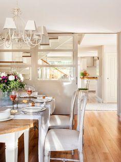 Mesa cocina «Es la casa de nuestros sueños» · ElMueble.com · Casas