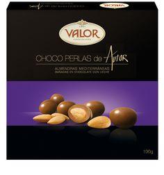 Nuestra Gama de productos de Autor tiene el placer de presentaros las ChocoPerlas con chocolate con leche de Valor.