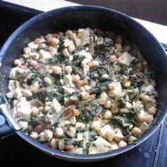Spinach Chickpea Curry food-and-drink