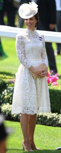 20 Jun 2017 - Duchess of Cambridge attends first day if Royal Ascot