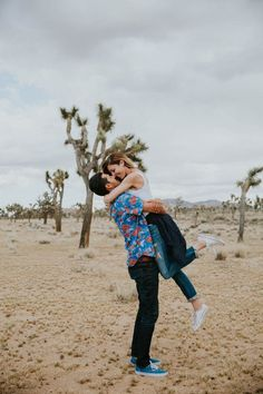 Loving this Cali cool Joshua Tree engagement from Lex and the Lotus Photography