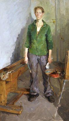 Artist in Studio by Valeriy Gridnev