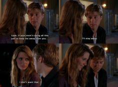 """I don't want that."" -Ryan & Marissa. Season 1, #8: The Rescue."