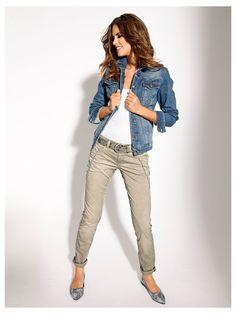 Veste en jean femme avec quel pantalon