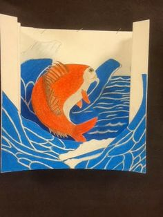 Less Talk, More Art: A middle school art ed blog: Tunnel books after famous works