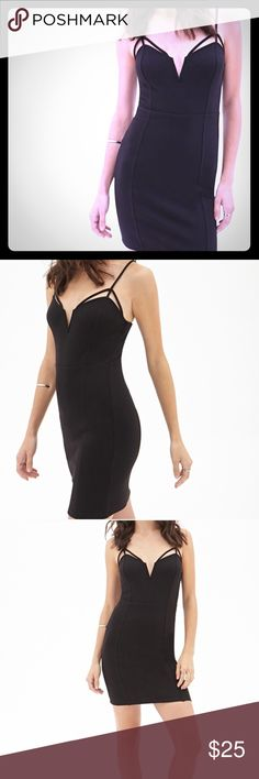 Sexy Strap Dress Very sexy and flattering. Forever 21 Dresses Mini