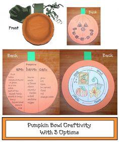 Life Cycle Of A Pumpkin Craftivity