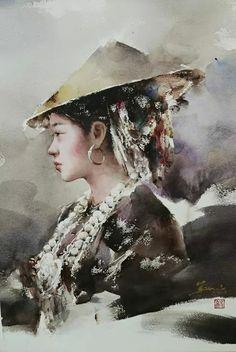 Rick Huang   WATERCOLOR