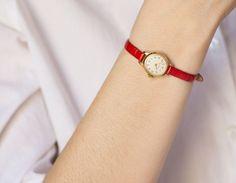Micro watch women's watch small lady watch Seagull by SovietEra