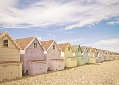 Pastel Huts II (Round the Back) | Flickr - Photo Sharing!