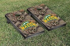 George Mason Patriots Cornhole Game Set Mossy Oak Version * You can find out more details at the link of the image.