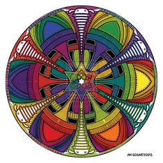 Evolution Coloured by *Mandala-Jim on deviantART