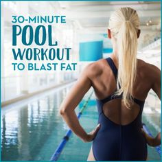 Burn calories and build strength this summer with this circuit-style pool workout that combines plyometrics and cardio to give you an amazing water workout.