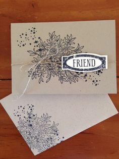 Card uses the Awesomely Artistic stamp set.  In Canada, get Stampin' Up! at http://tracyelsom.stampinup.net