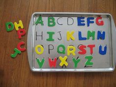 Matching game & learning ABC's all in one!