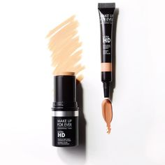 """Our new Ultra HD Concealer and Ultra HD Stick Foundation are a match made in complexion heaven! #UltraHDGeneration #MOTD #MAKEUPFOREVER…"""