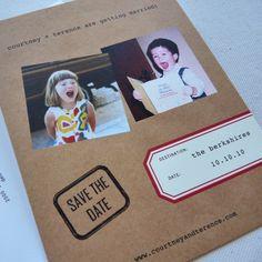 Unique Non Paper Wedding Invitations