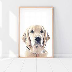 Three Puppy Dog Prints Animal Nursery Art Grey Nursery Decor Modern Nursery Prints Home Decor Pet Prints Animal Prints Dachshund Bulldog Pet Memorial Gifts, Dog Memorial, Portraits From Photos, Dog Portraits, Animal Heads, Animal Faces, Borderlands, Dog Room Decor, Wall Decor