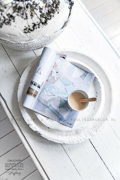 © Paulina Arcklin   Blog post: White painted wood