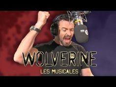 "Hugh Jackman performing ""Who Am I"" from Les Mis as Wolverine to promote X-Men: Days of Future Past. Seriously, he is too talented and adorable."