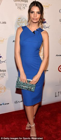 Emily Ratajkowski + dress