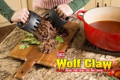 Meat Claws That Shred Any Meat With Ease | DIY Tag