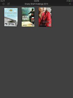 Empty Shelf Challenge Book #3 Reinventing Rachel by Alison Strobel finished 01-05-14 #emptyshelf