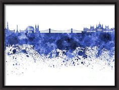 Budapest Skyline In Watercolor On White Background Poster by Pablo Romero. All posters are professionally printed, packaged, and shipped within 3 - 4 business days. Choose from multiple sizes and hundreds of frame and mat options. Hungarian Tattoo, All Poster, Posters, Thing 1, Canvas Art, Canvas Prints, Art Of Living, Budapest, Fine Art America